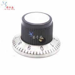 [含稅]帶數位刻度盤 金屬面 電位器旋鈕 C3 C-3 6MM 23X14 旋鈕帽