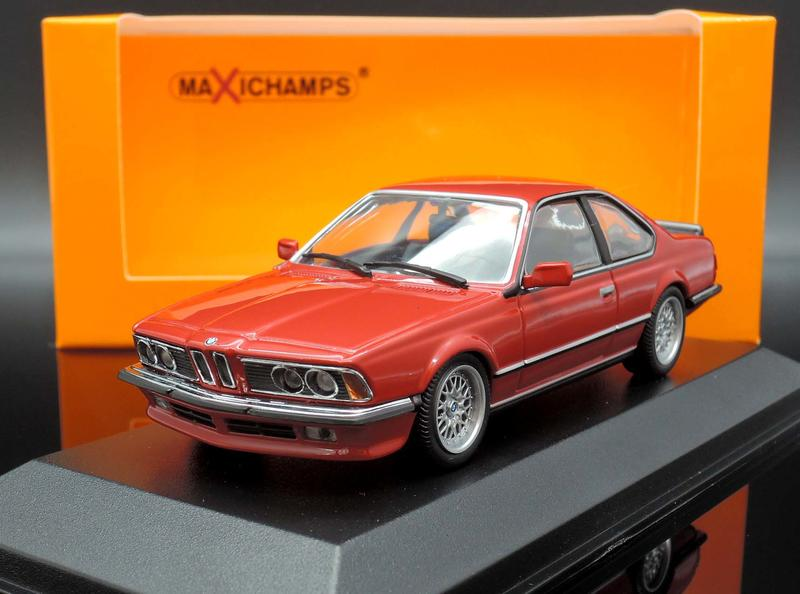 【M.A.S.H.】現貨特價 Maxichamps 1/43 BMW 635 CSI 1982 red