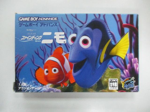 GBA 日版 GAME 盒裝海底總動員(說明書有髒汙)(41060537)
