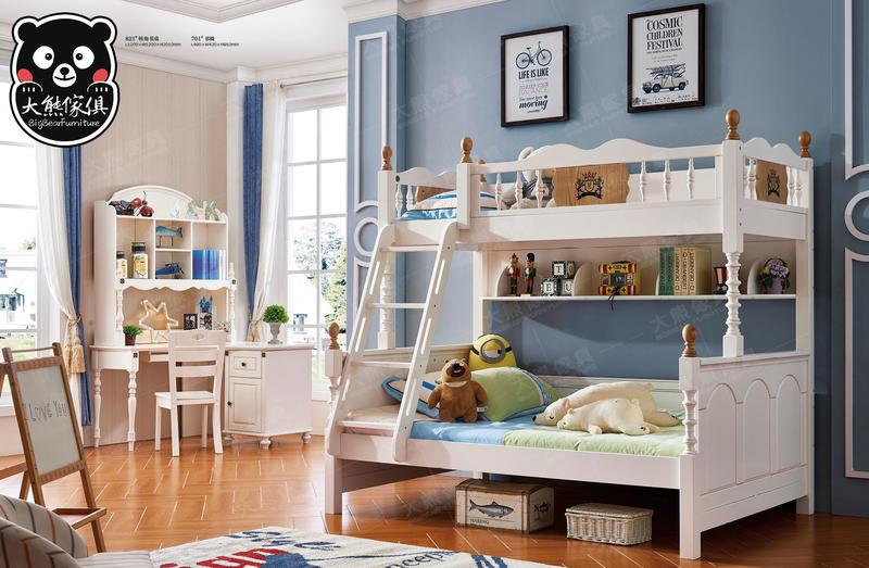 【大熊傢俱】Bb 821 雙層床 子母床 兒童床  上下床 青少年床 兒童家具 組合床  書桌椅 兒童衣櫃