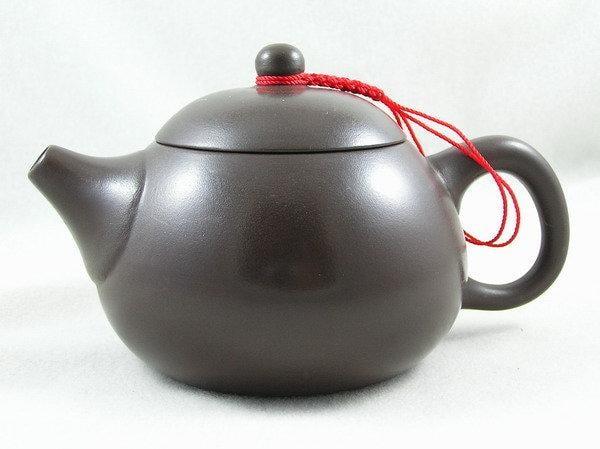 【兩隻老虎在賣(茶.壺)】精選茶壺~【西施8杯壺 老人茶壺 陶土茶壺】~《黑色》~容量︰240cc