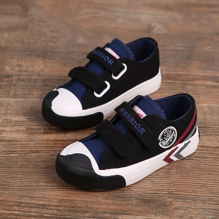 【可開發票】童鞋兒童帆布鞋寶寶男童板鞋春季新款運動鞋童學生鞋子811—聚優購物網