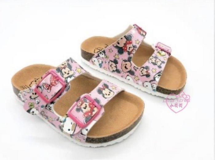 ♥小花花日本精品♥ 米奇米妮粉色涼鞋 透氣舒適好穿 420092