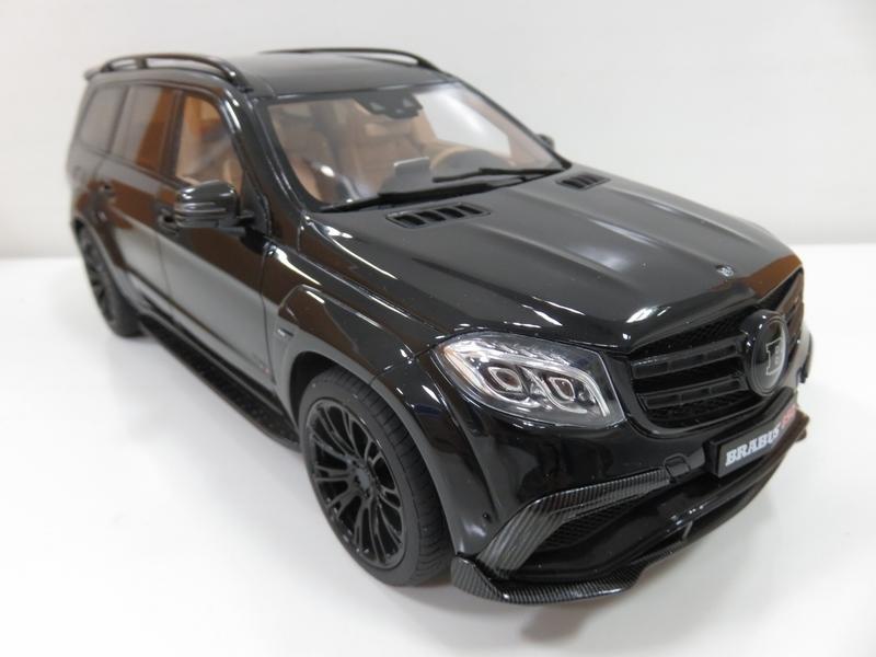 宗鑫貿易 GT SPIRIT GT186 Mercedes Brabus 850 XL 曜石黑