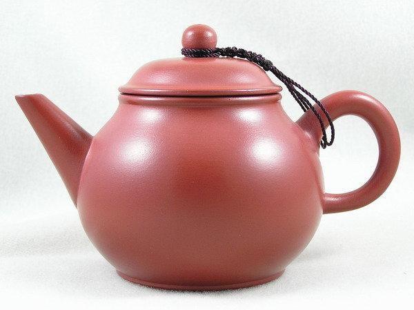 【兩隻老虎在賣(茶.壺)】精選茶壺~【芭樂壺 老人茶壺 陶土茶壺】~《紅色》~容量︰200cc
