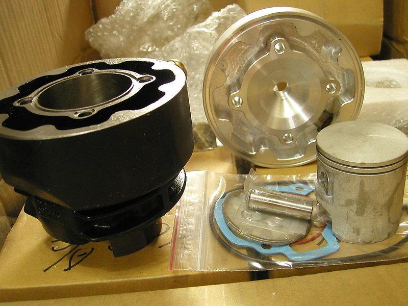佳模 DIO / ChaCha 全套專用50 / 54 mm頂級加大氣道水冷汽缸 大路易