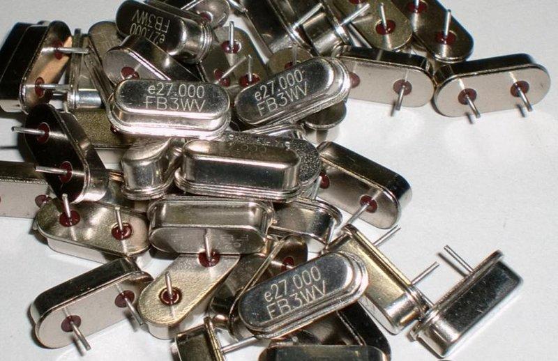 CRYSTAL 石英晶體 ( 亞陶 ECERA  GB2700006 ) 插件-49U/S (11.2X5.0X3.5mm)  27MHz   ±30PPM   20PF
