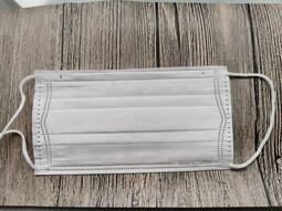 口罩現貨 綱印台灣製三層防護口罩(白色50入)成人版