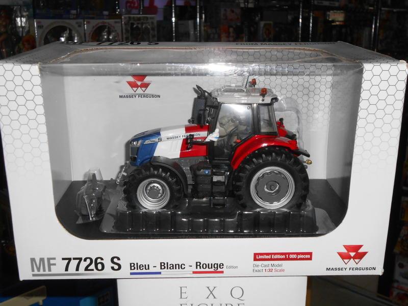 ((紅兵模型收購寄賣中心))   UH 1:32 MF7726S 拖拉機 農耕車 代理現貨