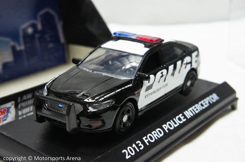 【超值特價】1:43 Motor Max 2013 Ford Police Interceptor 美國警車