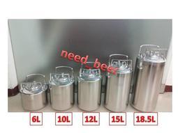 自釀好物--12L全新keg啤酒可樂桶氮氣咖啡