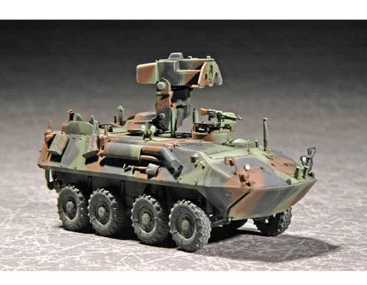現貨 1/72  TRUMPETER 美國海軍陸戰隊 LAV-AT 反坦克導彈發射車 07271