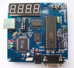 《德源科技》(含稅) 8051 TCP/IP 開發板 獨家 WEB SERVER 功能
