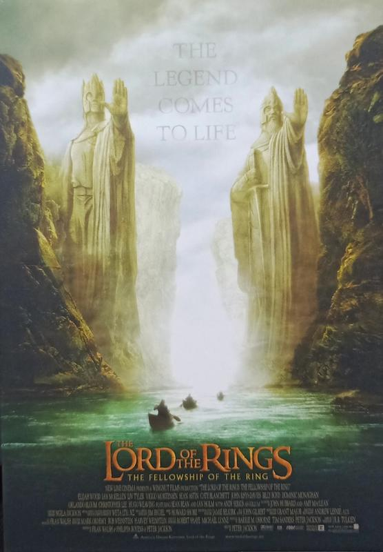 C電影酷卡明信片 魔戒首部曲:魔戒現身 The Lord of the Rings: Fellowship