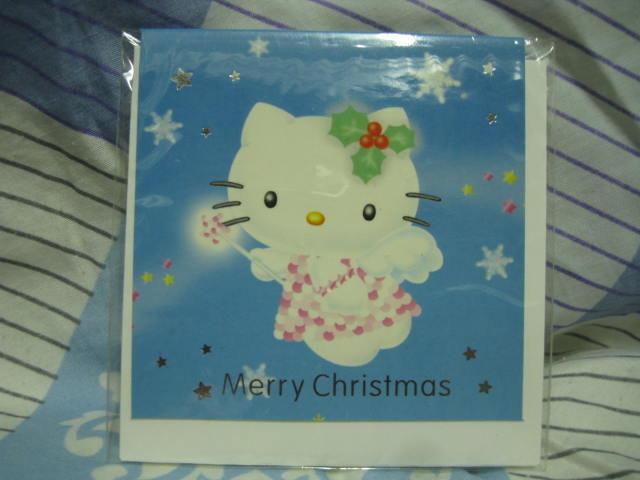 全新聖誕卡/耶卡/禮卡--HELLO KITTY