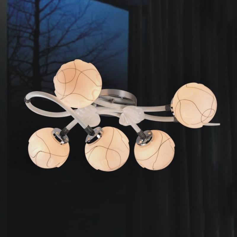 【一燈】SA2-151簡約現代半吸頂燈 燈具 燈飾 藝術燈 美術燈 客廳燈 臥室燈 餐廳燈 庭院燈 書房燈 節能燈