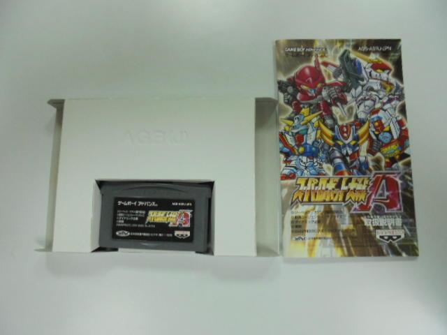 GBA 日版 GAME 盒裝超級機器人大戰A (41068113)