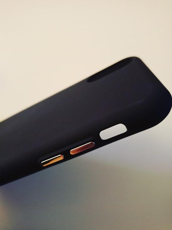 IPhone X液態矽膠手機殼 黑白兩色