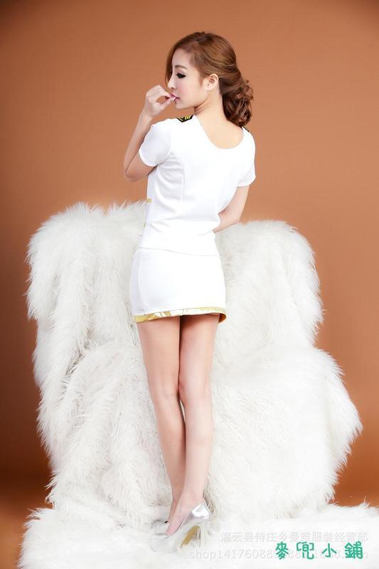 麥兜小鋪-免脫性感性感女士誘惑情趣睡衣誘惑套裝cospiay軍事燙金制服空姐服207