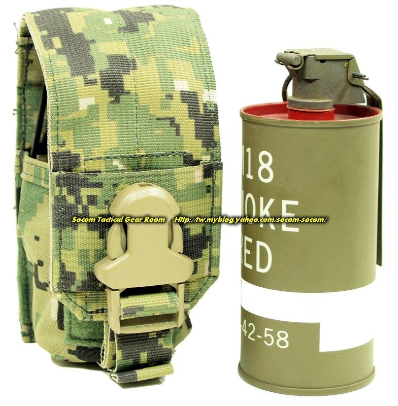 EAGLE 2010 MLCS CIRAS MBSS MOLLE v2 單連 M18 煙霧彈 震撼彈 袋 AOR2 DIGI3色 SEAL DEVGRU 採用