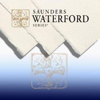 板橋酷酷姐美術社!英國Saunders山度士水彩紙waterford系列!冷壓中目!190g!56*76cm!下標前請先