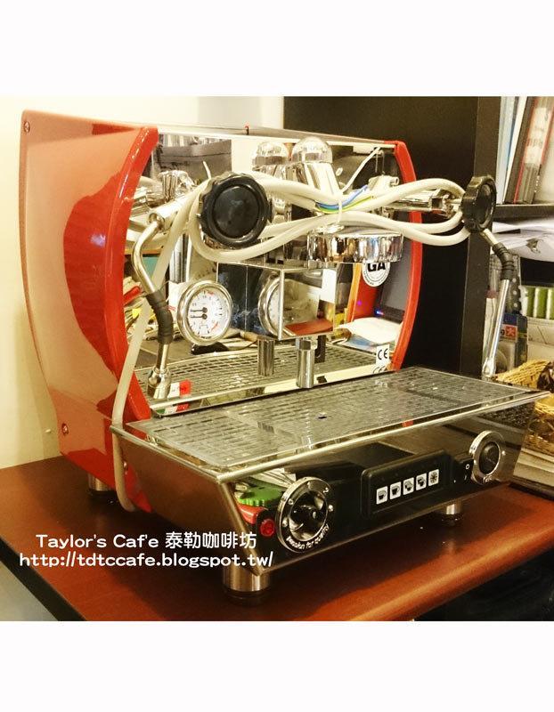 【TDTC 咖啡館】La Nouva Era Altea 1GR 義式半自動咖啡機(紅 / 黑 / 鍍鉻)