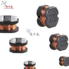 [含稅]貼片功率電感 CD32 3.3UH 絲印 3R3 體積3.5*3*210個