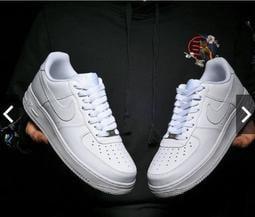 Nike 運動鞋 AIR FORCE AF1 空軍一號 全白 低筒 高筒 小白鞋 男女鞋 全黑 經典 籃球鞋 板鞋氣墊鞋