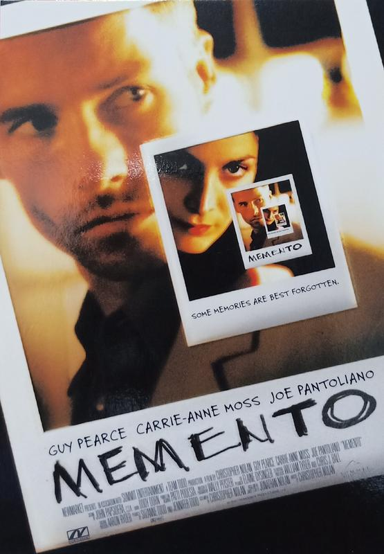 C電影酷卡明信片 記憶拼圖 Memento 蓋皮爾斯