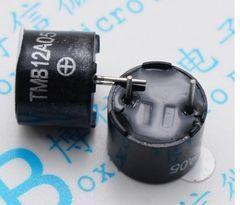 [含稅]一體有源蜂鳴器 TMB12A05 12A03 12A12 3V/5V/12V直流長聲12*9.5