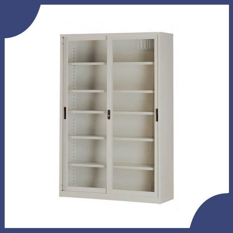 辦公家具 CP-4602G 連座玻璃拉門 隔間櫃 卷宗櫃 櫃子 檔案 收納 內務 休息室