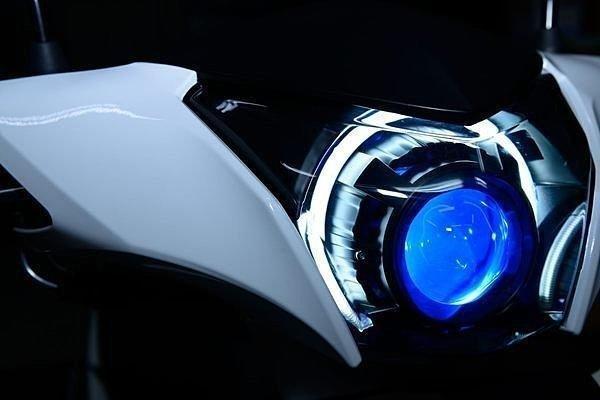 AEON 宏佳騰 OZ 150 改裝 魚眼大燈 HID 模組 總成 LED 光圈 天使眼 惡魔眼 電鍍飾圈
