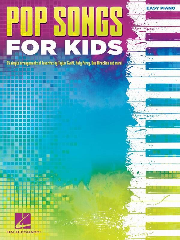 【愛樂城堡】鋼琴譜=HL221920孩童流行歌曲鋼琴譜(初級)POP SONGS FOR KIDS (Easy Pian