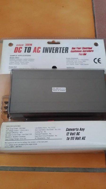 全新DC TO AC電源供應器