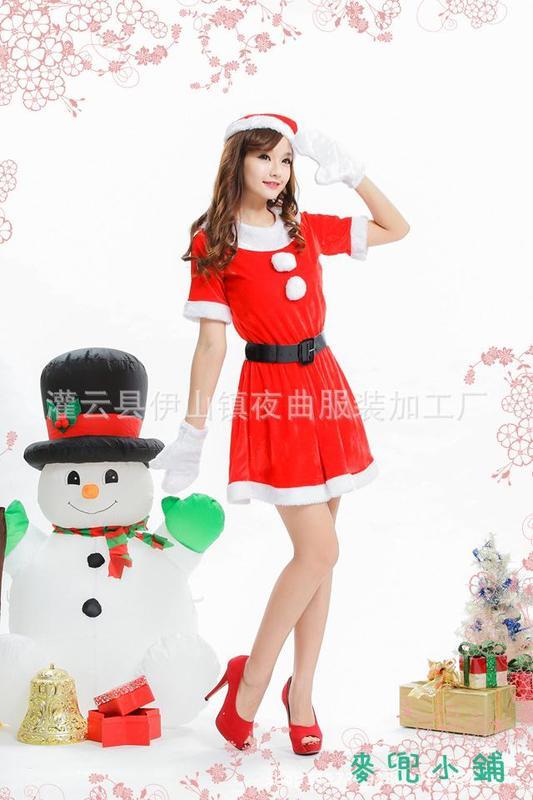 麥兜小鋪-免脫性感情趣內衣 帶球圣誕服裝性感歐美風 角色表演制服誘惑甜美