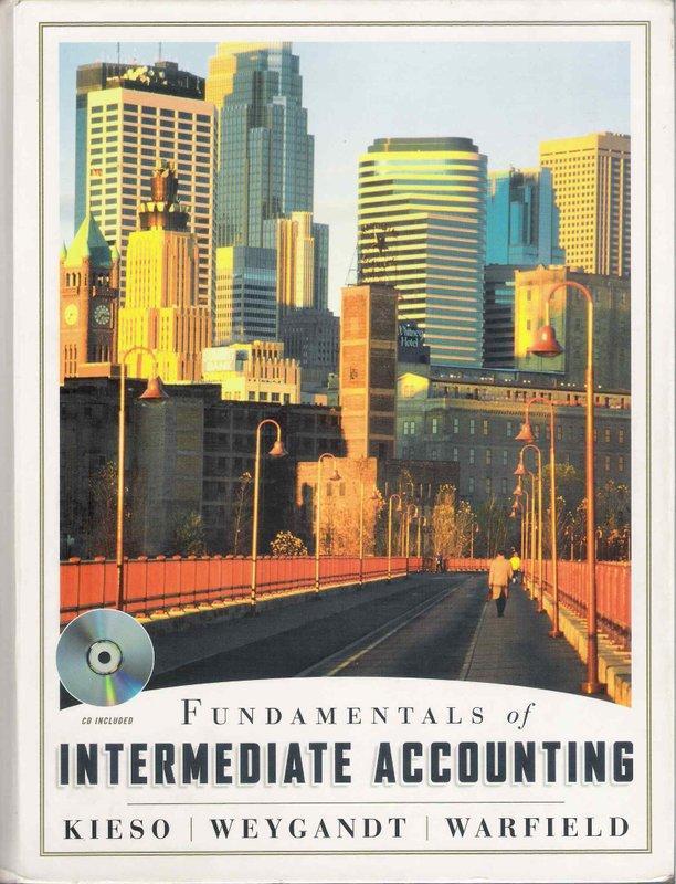 Fundanmentals  of Intermediate Accounting   Kieso et al.