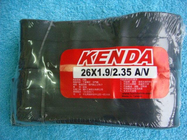 {2+2單車生活}KENDA建大 26吋 26x1.9/2.35美嘴 登山車內胎 丁基橡膠 26×2.0 26×2.2