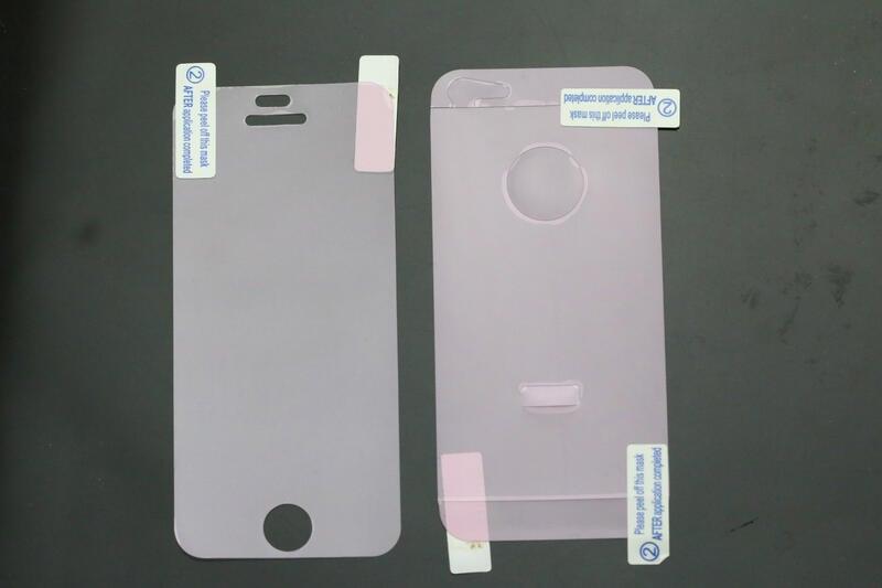apple iphone5 iphone 5s iphone 5 SE 前後 高透 紅鑽 鑽石 保護貼 保貼