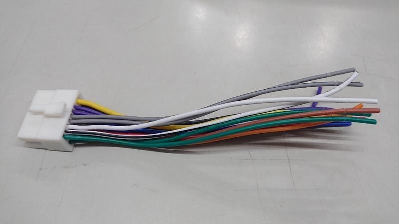 歌樂旺 Clarion 汽車音響專用 電源喇叭線 主機線 公頭 適用 solio adb341mp