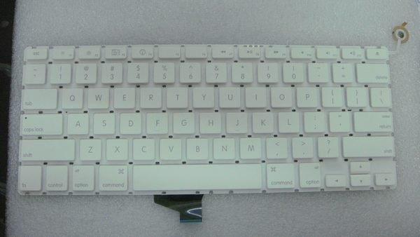 筆電鍵盤換新維修~全新 APPLE MACBOOK 13.3吋 系列 中文鍵盤 A1181 A1342 白色 鍵盤