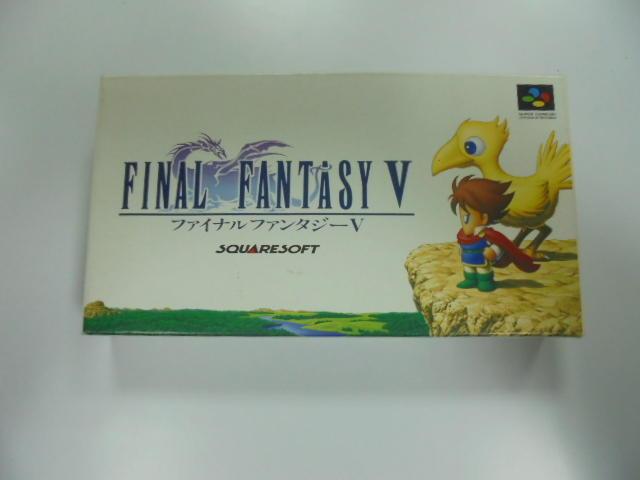 SFC 日版 GAME 盒裝最終幻想V (41013441)