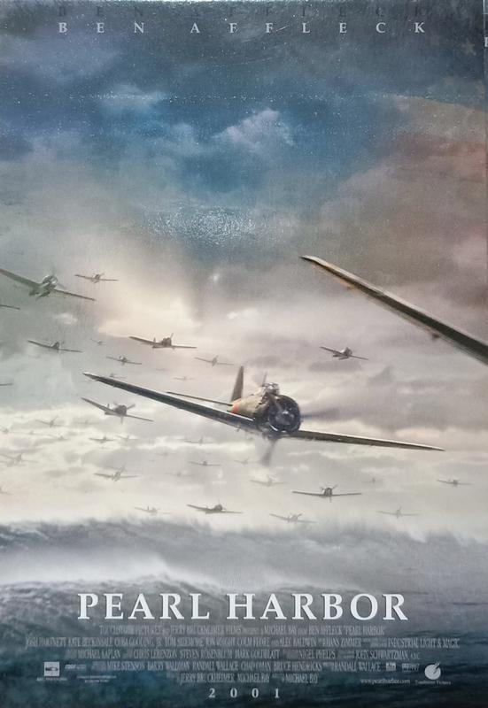 C電影酷卡明信片 珍珠港 Pearl Harbor 班艾佛列克 喬許哈奈特 凱特貝琴薩