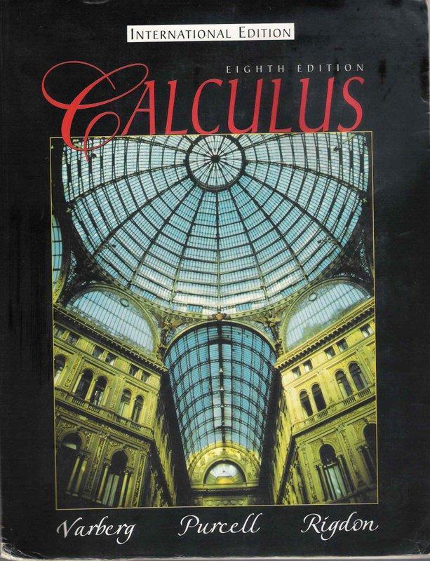 Calculus / 8th edition / Varberg et al.