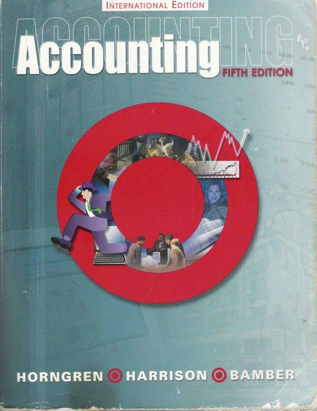 Accounting / 5th edition / Horngren et al.