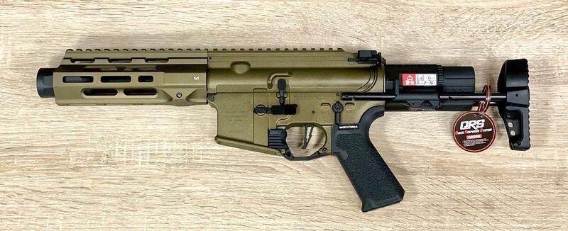 【楊格玩具】現貨~ VFC M4 AVALON CALIBUR II PDW AEG全金屬 電動槍~沙色~免運費