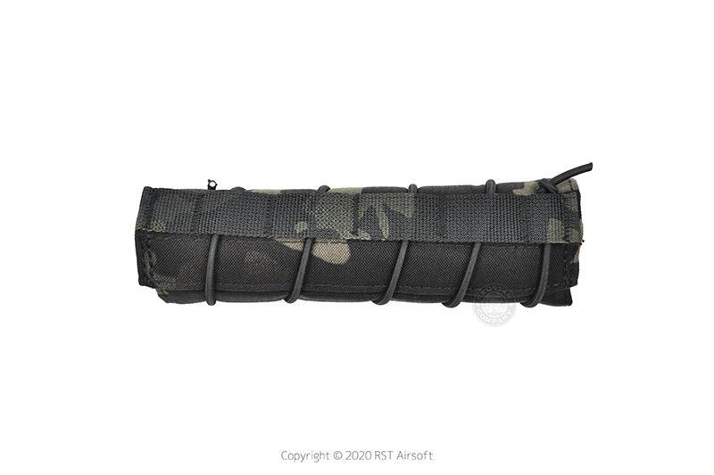 RST 紅星 - 18cm 滅音管保護套 偽裝套 滅音管袋 保護袋 防刮套 黑色多地型 ... 19407