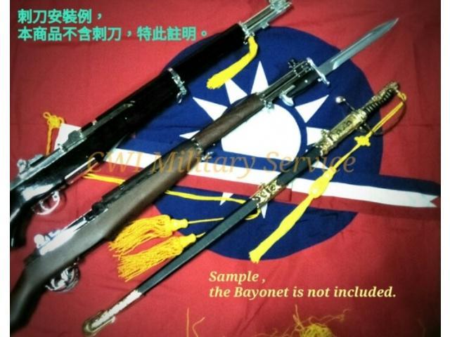 【崇武---CWI】三軍儀隊禮賓槍款 G&G M1 Grand 電動款 鍍鉻+原木實木 現貨