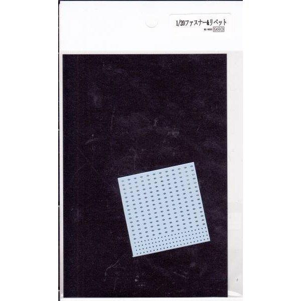 ISAM2000:MC D552 1/20 fastener&rivet decal