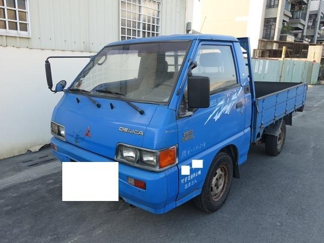【鳥松】中華  柴油  DELICA 1999年 2500cc 保證15萬公里數 無重大事故泡水