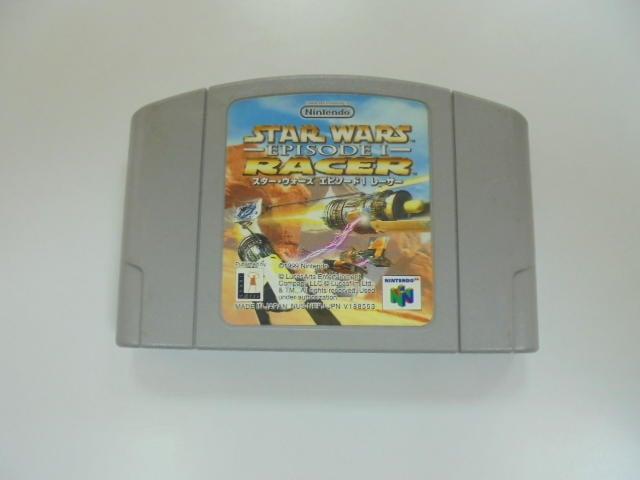 N64 日版 GAME 星際大戰首部曲:極速飛梭(41065808)